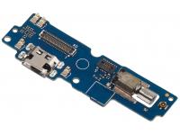 Placa Cu Conector Incarcare / Date - Motor Vibrator - MIcrofon Asus Zenfone 4 Max Pro ZC554KL