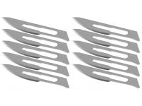 Set Lama de rezerva pentru bisturiu No:23, dimensiuni 52 x 10 mm (Set 10 buc)