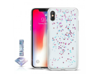 Husa TPU OEM Diamond pentru Samsung J6 Plus (2018) J610, Multicolor - Transparenta, Blister