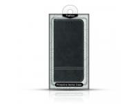 Husa Piele OEM Suede Book pentru Samsung Galaxy S10e G970, Neagra, Blister