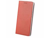 Husa Piele OEM Smart Magnet pentru Samsung Galaxy A30 A305 / Samsung Galaxy A20 A205, Rosie