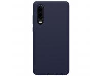 Husa TPU Nillkin Pure Silicone pentru Huawei P30, Bleumarin, Blister