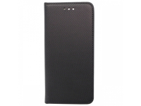 Husa Piele OEM Smart Magnet pentru Motorola Moto G7, Neagra, Bulk