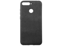Husa TPU OEM Ultra Slim Leather pentru Apple iPhone XS, Neagra, Bulk