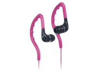 Casti In-Ear KitSound ENDURO, Sport, 3.5 mm, Roz, Blister KSENDPI