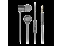 Handsfree Casti In-Ear KitSound Hive Buds, Cu microfon, 3.5 mm, Gri, Blister KSHIVBGY