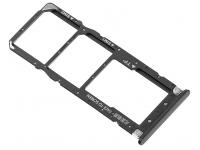 Suport Card - Suport SIM 1 / 2 Negru Xiaomi Mi A2 Lite