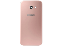 Capac Baterie Roz cu geam camera / blitz, Second Hand Samsung Galaxy A5 (2017) A520