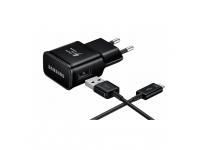Incarcator Retea USB Type-C Samsung EP-TA200EBE, Fast Charging, 1 X USB, Negru, Bulk