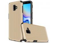 Husa Plastic - TPU OEM Travel Box pentru Samsung J6 Plus (2018) J610, Aurie, Bulk