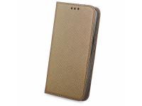 Husa Piele OEM Smart Magnet pentru Samsung Galaxy A70 A705, Bronz, Bulk