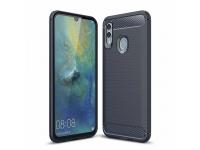 Husa TPU OEM Carbon pentru Huawei P Smart (2019) / Huawei Honor 10 Lite, Bleumarin, Bulk
