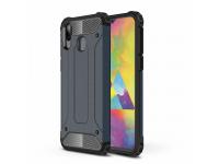 Husa Plastic - TPU OEM Tough Armor pentru Samsung Galaxy M20, Bleumarin, Bulk