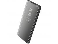Husa Plastic OEM Clear View pentru Samsung Galaxy A30 A305 / Samsung Galaxy A20 A205, Neagra