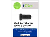 Incarcator Auto cu cablu Apple 30-pini iGO, 1 X USB, Negru, Blister PS00286-0005