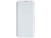Husa Plastic - Poliuretan Samsung Galaxy A20e, Wallet Cover, Alba, Blister EF-WA202PWEGWW