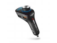 Emitator FM Bluetooth si MP3 Player Auto Xblitz X300 PRO, Quick Charge,  Negru Blister