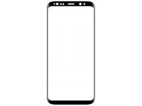 Folie Protectie Ecran Type Gorilla Glass pentru Samsung Galaxy S9+ G965, Plastic, Full Face, Full Glue, Anti-Explode Nano, Neagra, Blister