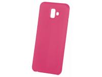 Husa TPU OEM Pure Silicone pentru Samsung Galaxy A40 A405, Roz, Blister