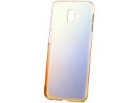 Husa Plastic OEM Ombre pentru Samsung J6 Plus (2018) J610, Portocalie, Bulk