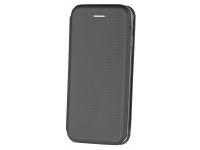Husa Piele OEM Smart Verona pentru Apple iPhone 7 / Apple iPhone 8, Neagra, Bulk