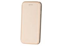 Husa Piele OEM Smart Verona pentru Apple iPhone 7 / Apple iPhone 8, Aurie, Bulk