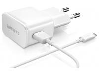 Incarcator Retea cu cablu MicroUSB Samsung ETA-U90E + ECB-DU68WE, 1 X USB, Alb, Bulk