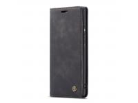 Husa Piele CaseMe -013 Retro Frosted pentru Samsung Galaxy A30 A305 / Samsung Galaxy A20 A205, Neagra, Bulk