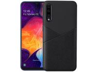 Husa Piele - TPU OEM Ultra-thin Soft pentru Samsung Galaxy A50 A505, Neagra, Bulk