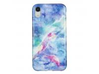 Husa TPU OEM Blue Star pentru Apple iPhone XR, Multicolor, Bulk