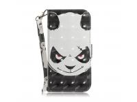 Husa Piele OEM Angry Bear pentru Samsung Galaxy A40 A405, Multicolor