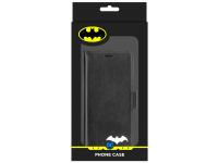 Husa TPU DC Comics Magnetic Wallet Batman 025 pentru Apple iPhone 6 / Apple iPhone 7 / Apple iPhone 8, Neagra, Blister