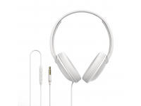 Handsfree Casti Over-Ear Borofone BO1 Sound, Cu microfon, 3.5 mm, Alb, Blister