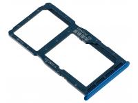 Suport Card / SIM 2 - Suport SIM 1 Albastru Huawei P30 lite
