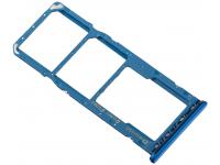 Suport Card - Suport SIM 1 / 2  Albastru Samsung Galaxy A30 A305 Dual SIM