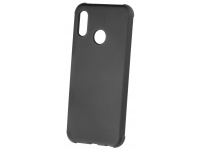 Husa TPU OEM Antisoc Rubber pentru Samsung Galaxy S9 G960, Neagra, Bulk