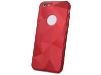 Husa TPU OEM Diamond Shine pentru Apple iPhone 8, Rosie, Bulk
