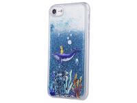 Husa TPU OEM Liquid Ocean2 pentru Apple iPhone 7 / Apple iPhone 8, Multicolor, Bulk