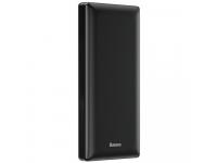 Baterie Externa Powerbank Baseus Mini JA 20000 mA, 2 x USB, Neagra, Blister PPJAN-B01