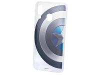 Husa TPU Marvel pentru Samsung Galaxy A40 A405, Captain America 006, Transparenta