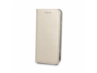 Husa Piele OEM Smart Magnetic pentru Samsung Galaxy A50 A505, Aurie, Bulk