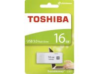 Memorie Externa Toshiba U301, USB 3.0, 16Gb, Alba, Blister THN-U301W0160E4