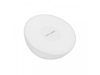 Incarcator Retea Wireless OEM Qi, Fast Charge, Lampa si Ceas, Alb, Blister