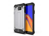 Husa Plastic - TPU OEM Tough Armor pentru Samsung Galaxy A30 A305 / Samsung Galaxy A20 A205, Argintie, Bulk