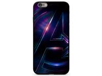 Husa TPU Marvel Avengers 012, cu spate din sticla pentru Apple iPhone 7 Plus / Apple iPhone 8 Plus, Multicolor, Blister MPCAVEN3604