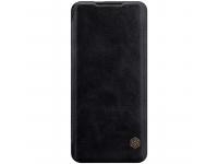 Husa Piele Nillkin Qin Book pentru OnePlus 7 Pro, Neagra, Blister