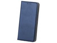 Husa Piele OEM Smart Magnetic pentru Samsung Galaxy A10 A105, Bleumarin