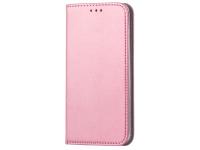 Husa Piele OEM Smart Magnetic pentru Samsung Galaxy A10 A105, Roz Aurie
