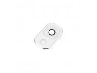 Geam Camera Spate - Rama Camera Spate Alba - Argintie Samsung Galaxy Note 3