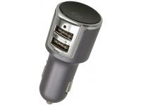 Emitator FM Bluetooth Multifunctional Forever TR-340 cu telecomanda,  2xUSB, Negru Blister